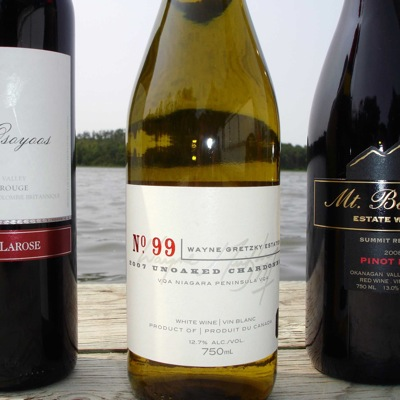 3 Canadian Wines