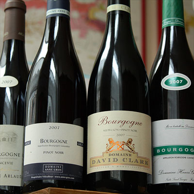 Bourgogne rouge 2007 by Domaine Arlaud, Anne Gros, David Clark and Henri Gouges