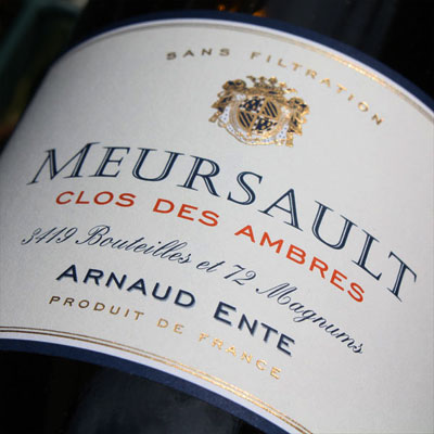 Arnaud Ente Meursault Clos des Ambres 2006