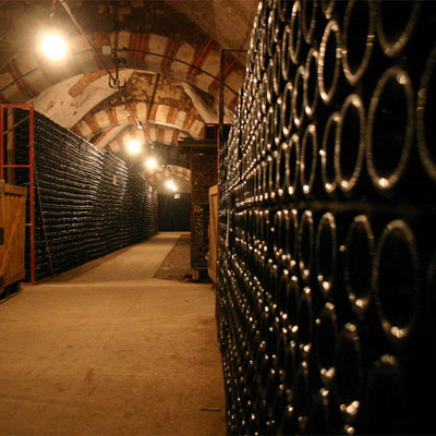 The cellar, about 200 years old