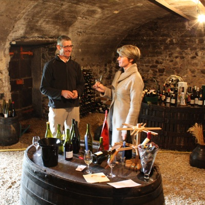Bruno and Isabelle Perraud from Domaine des Ctes de la Molire