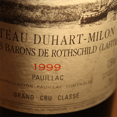 Chateau Duhart-Milon Rothschild 1999