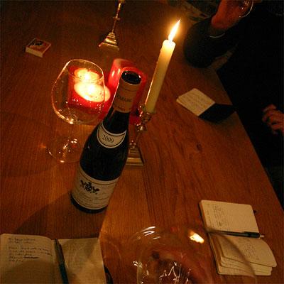 Tasting Leflaive's Bienvenues Bâtard-Montrachet 2000