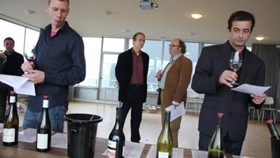 Bas van der Flier, Hubrecht Duijker, Nicolaas Klei and Dwayne Perreault
