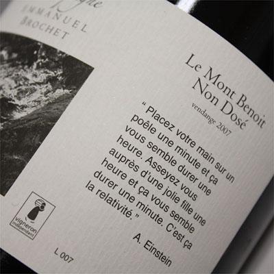 Champagne Emmanuel Brochet Non Dosé