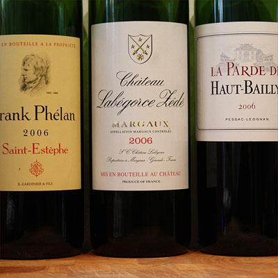 Frank Phélan, Labégorce-Zédé & La Parde de Haut-Bailly 2006