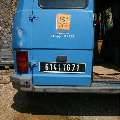 Philippe Garrey's van