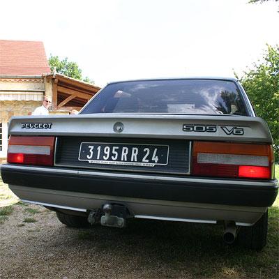 Peugeot 505 V6 3.0 1987