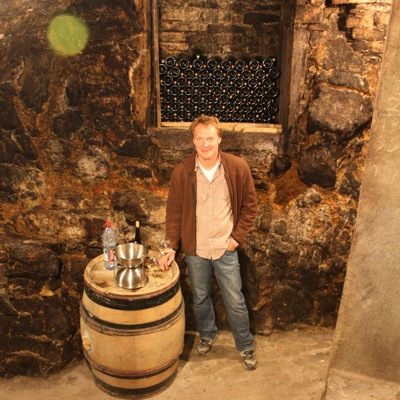 Tasting the JanotsBos 2008s with Richard Bos