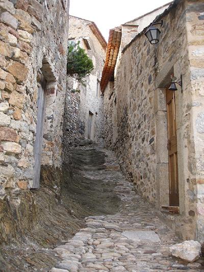 Rue de la Bouissounade in Roquebrun