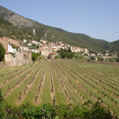 View of Roquebrun